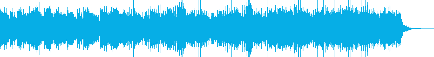 壮大で幻想的なケルト風ピアノバラードの再生済みの波形