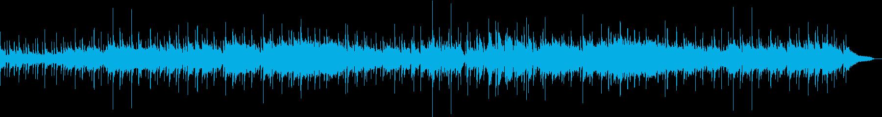 ゆったりした生演奏ソプラノSAXソロの再生済みの波形