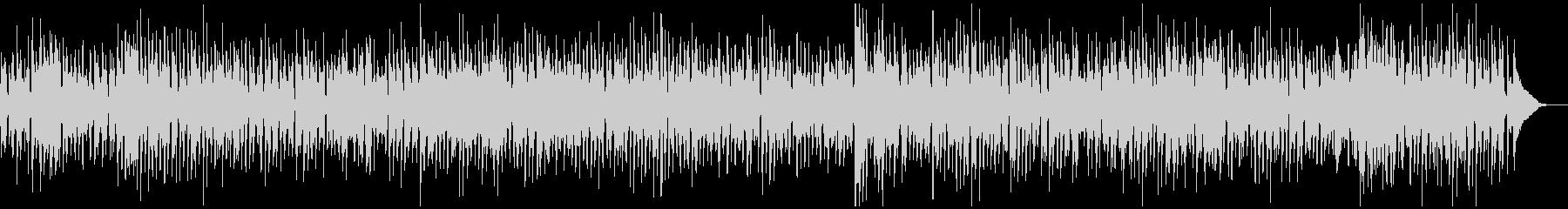 アルトサックス、スイングジャズBGMの未再生の波形