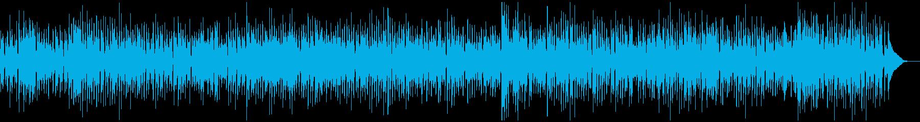 アルトサックス、スイングジャズBGMの再生済みの波形