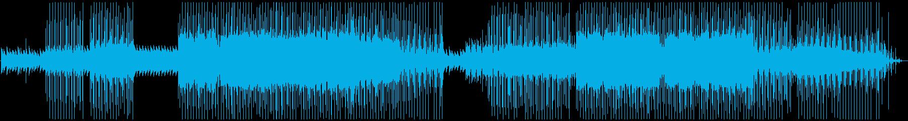 ゆったりとした心地良い音のLo-Fiの再生済みの波形