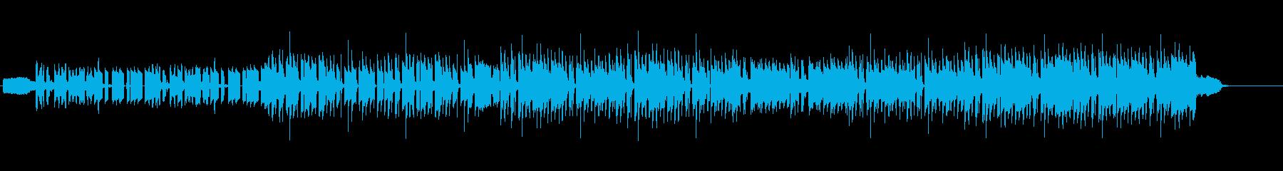電子楽器。ロボットの機械的電気溝。...の再生済みの波形