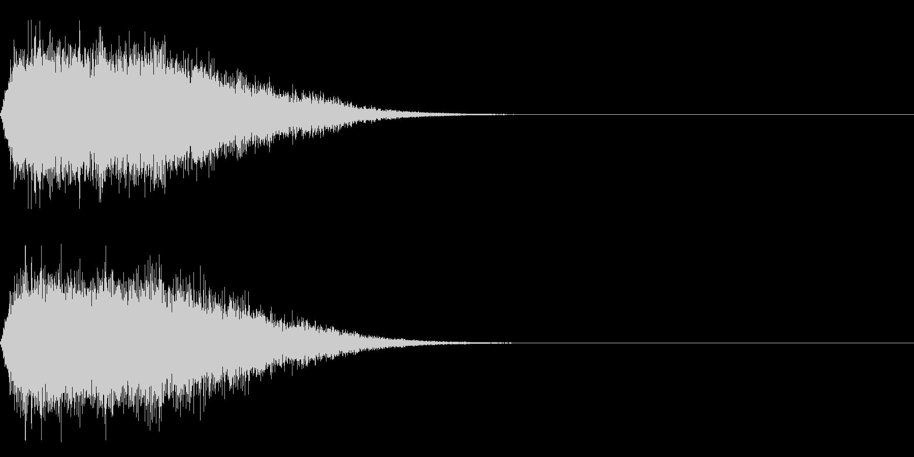 シュー(空気、蒸気、ガス)その3の未再生の波形