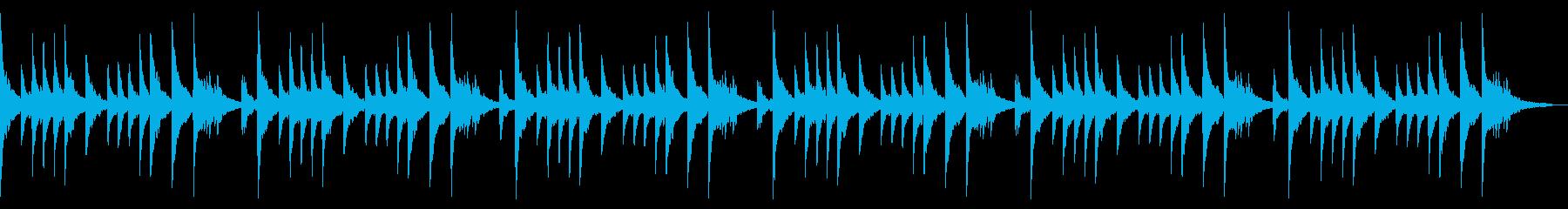 桜散るエモーショナルピアノソロチルアウトの再生済みの波形