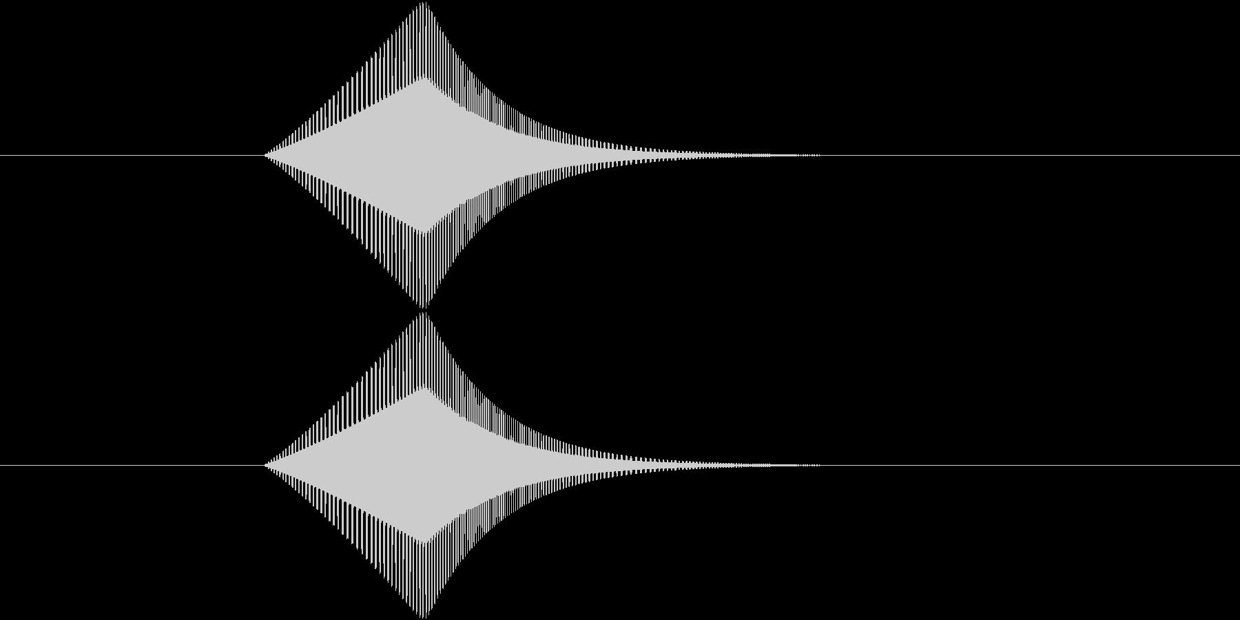 プヨ(ジャンプ・跳躍・スライム・揺れる)の未再生の波形