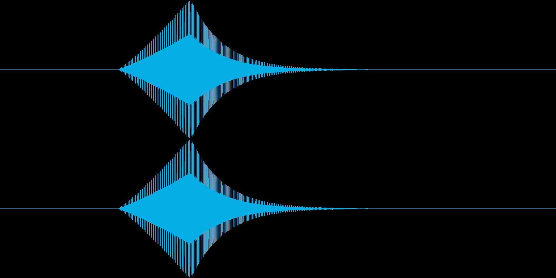 プヨ(ジャンプ・跳躍・スライム・揺れる)の再生済みの波形