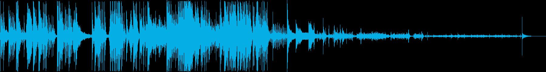 非常におしゃべりなドラム、自由、そ...の再生済みの波形