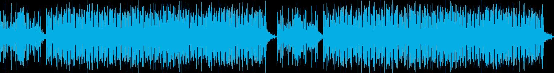 かわいいベルうきうきポップな日常ループdの再生済みの波形