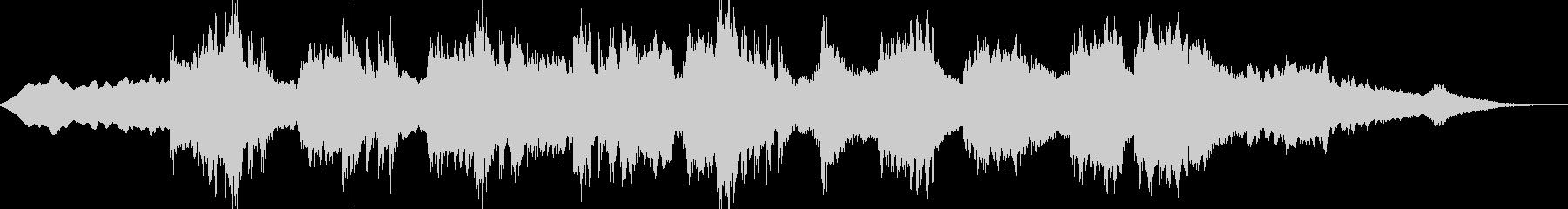 アラビアンなアンビエントトラックの未再生の波形