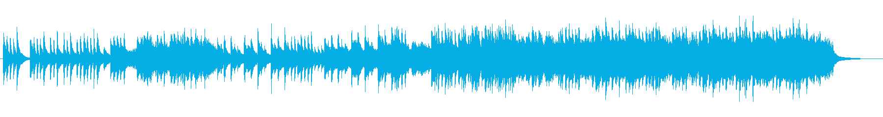 お月見をイメージした秋にピッタリの和曲の再生済みの波形