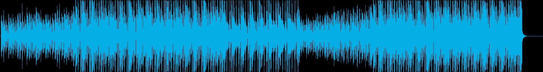 アパレル系CM向けポップスの再生済みの波形