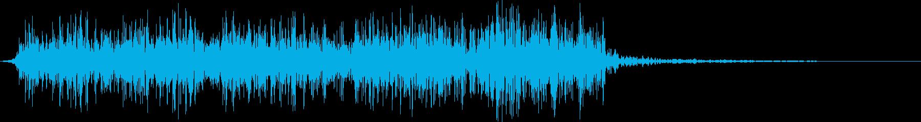 【ゲーム】 環境音 火 属性 11の再生済みの波形