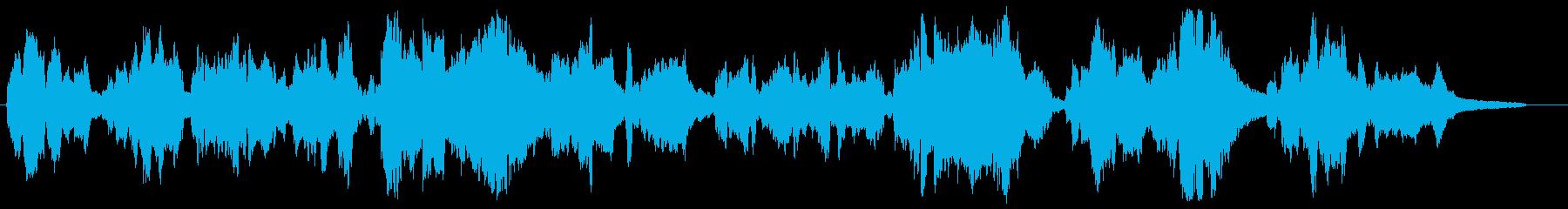 切ない感動シーン向け・バイオリンとピアノの再生済みの波形