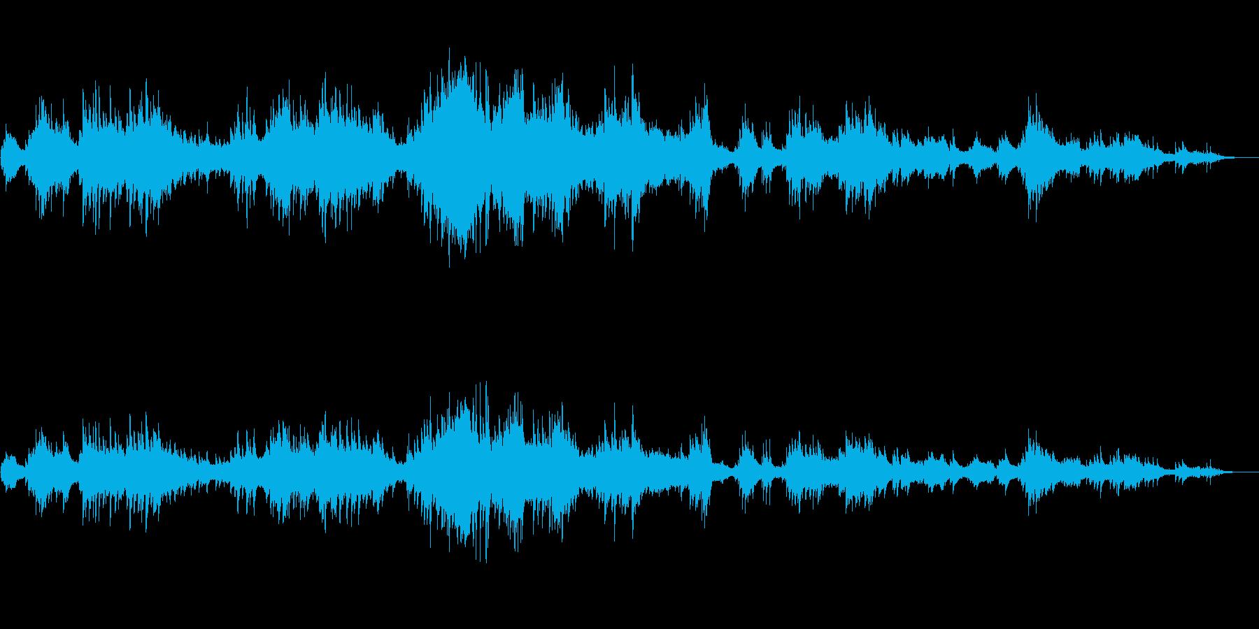 エネルギー。雲の王国。ピアノ版、残響。の再生済みの波形