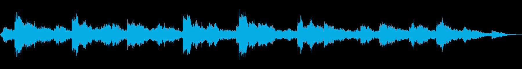 教会の鐘が鳴るの再生済みの波形