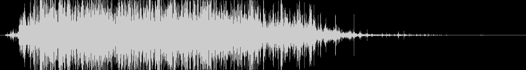 ロック 大きなロールドロップ04の未再生の波形