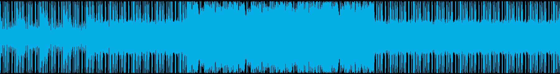 ヒップホップ 積極的 焦り 神経質...の再生済みの波形