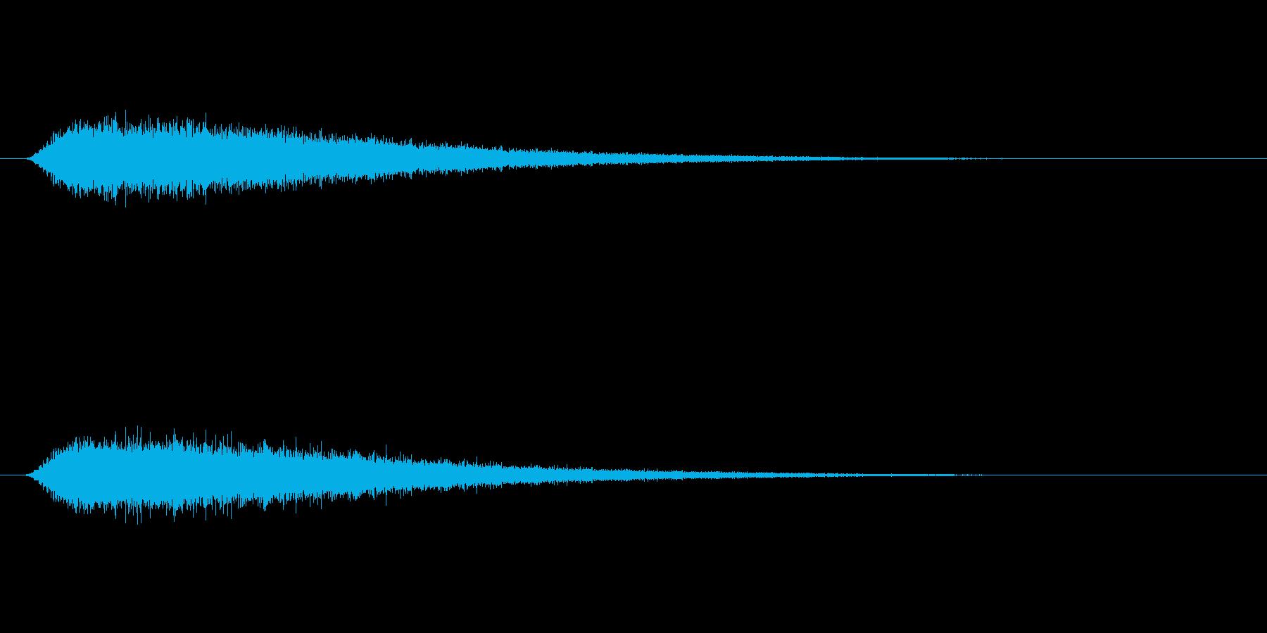 【ショートブリッジ31-2】の再生済みの波形