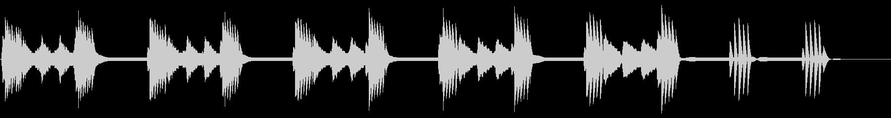 古い8ビットビデオゲーム:レベルま...の未再生の波形