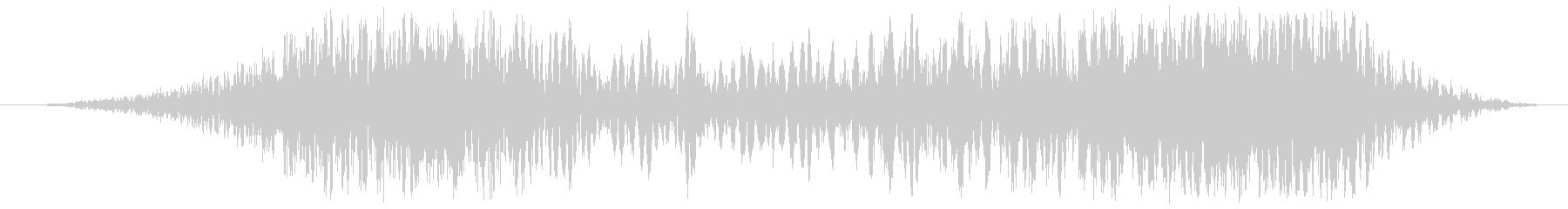 グリッチスキッドスイープの未再生の波形