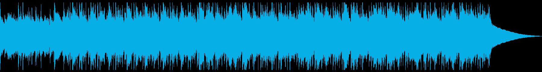 ソフトポップインスツルメント陽気で...の再生済みの波形
