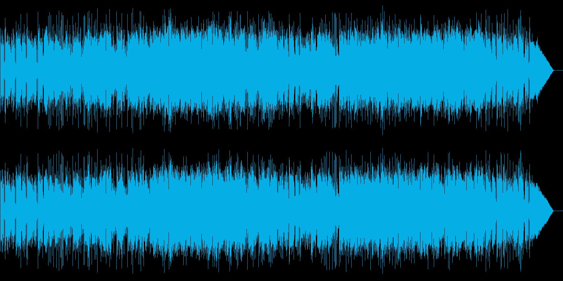 アンニュイな雰囲気のフュージョンの再生済みの波形