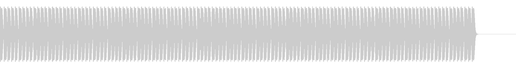 NGワード、放送禁止用語の未再生の波形