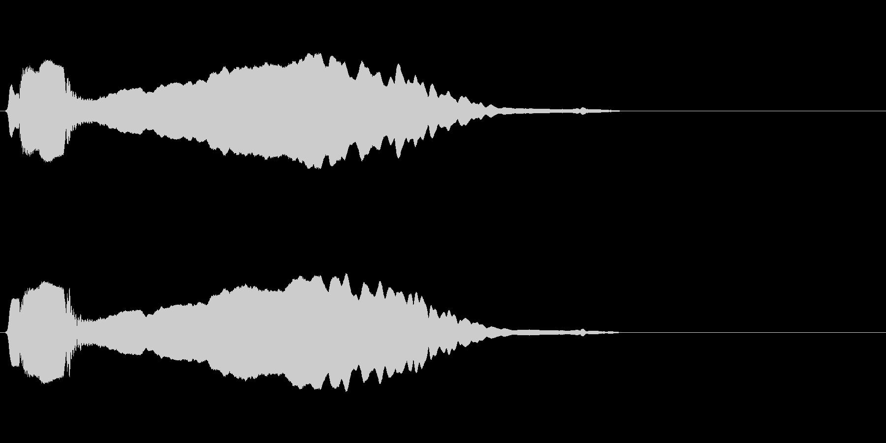 尺八 生演奏 古典風#2の未再生の波形