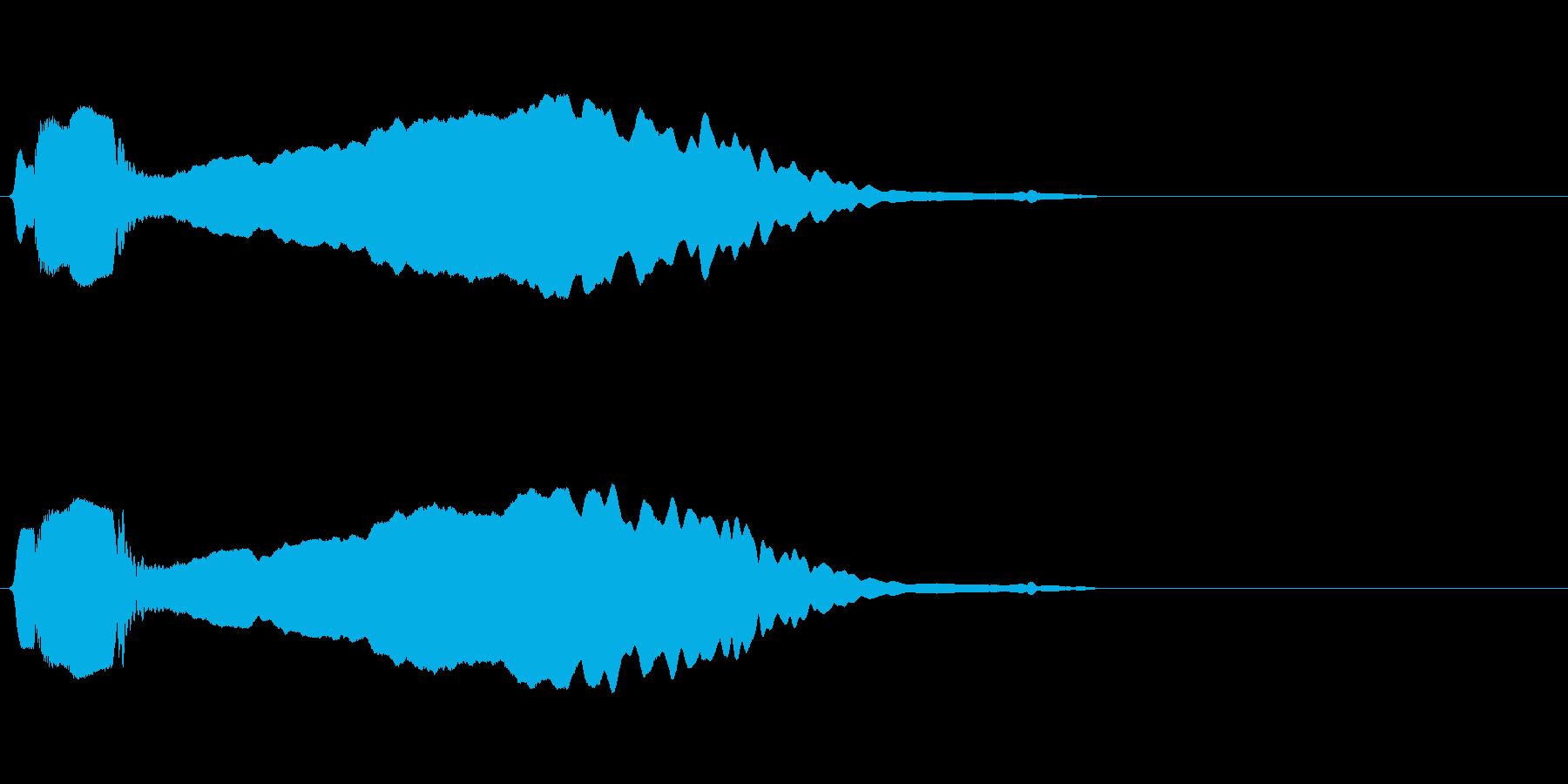 尺八 生演奏 古典風#2の再生済みの波形