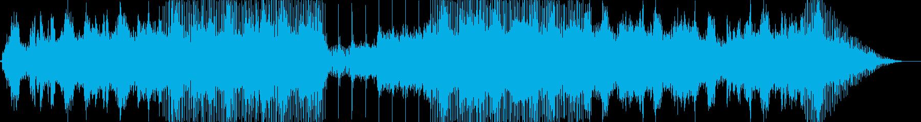 幻想的な空気のアンビエント楽曲です。の再生済みの波形