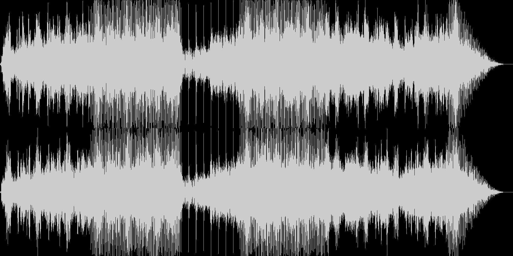 幻想的な空気のアンビエント楽曲です。の未再生の波形