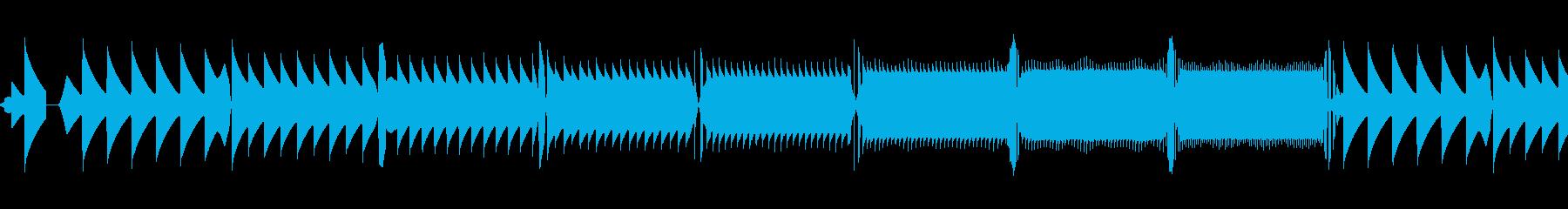 レトロゲーム風レベルアップワンショットの再生済みの波形