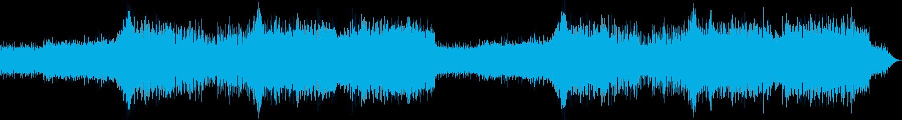 ベースが特徴のHipHopの再生済みの波形