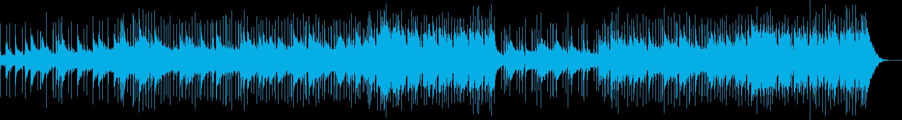 ミステリアス シンセコーラスの再生済みの波形