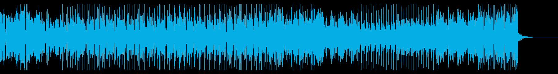 摩天楼のダンサンブルハウスサウンドの再生済みの波形