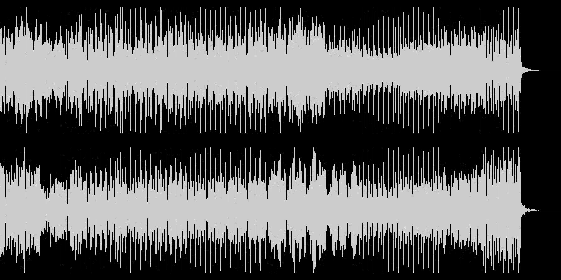 摩天楼のダンサンブルハウスサウンドの未再生の波形