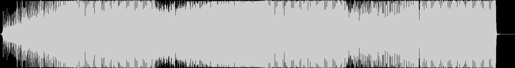 ピアノハウスEDM・ダンスミュージックの未再生の波形