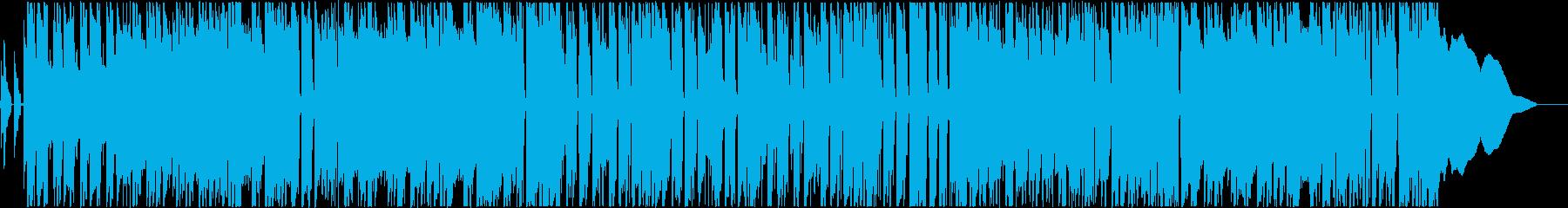 ガットギターメインの爽やかな曲ですの再生済みの波形