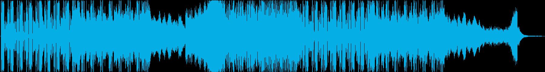 CM】ダブステップ コミカル オシャレの再生済みの波形
