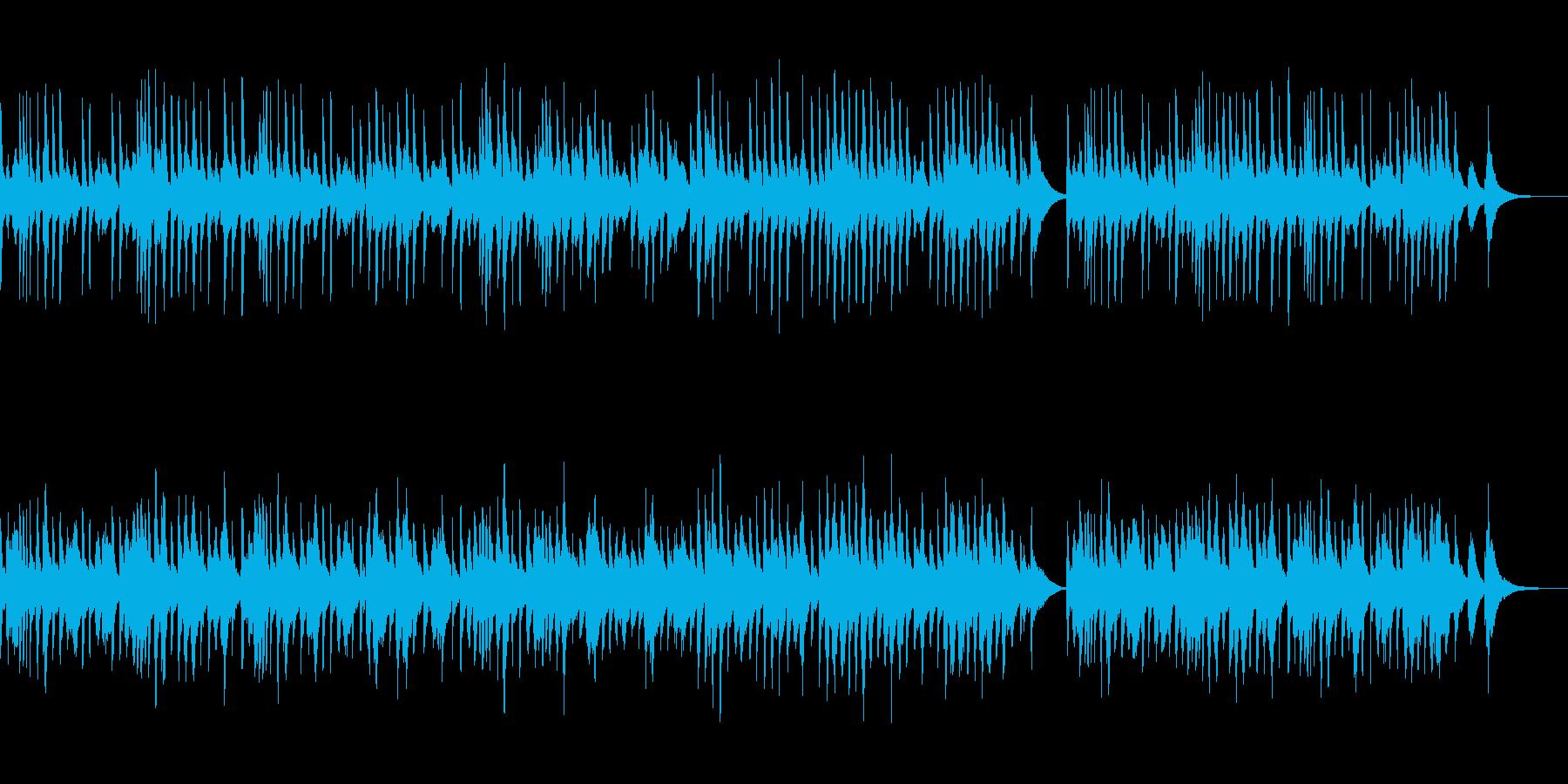 琴でメンデルスゾーン『春の歌』をアレンジの再生済みの波形