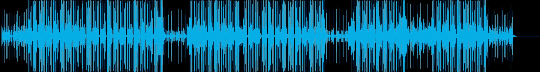 洋楽ラテン、レゲエ、ヒップホップビート♫の再生済みの波形