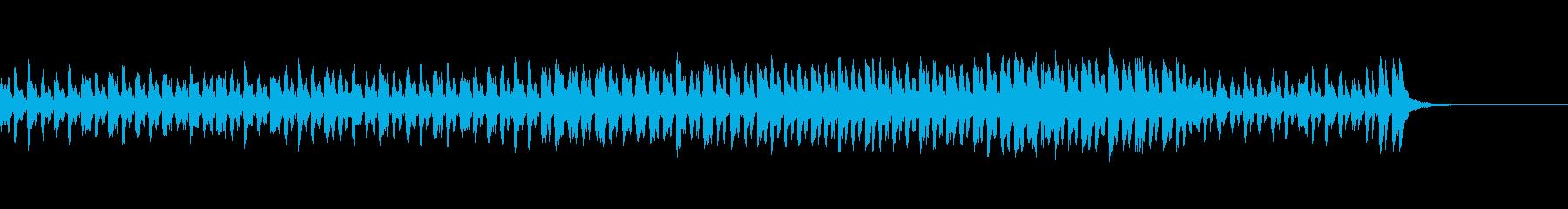 明るくて軽快な曲ですの再生済みの波形