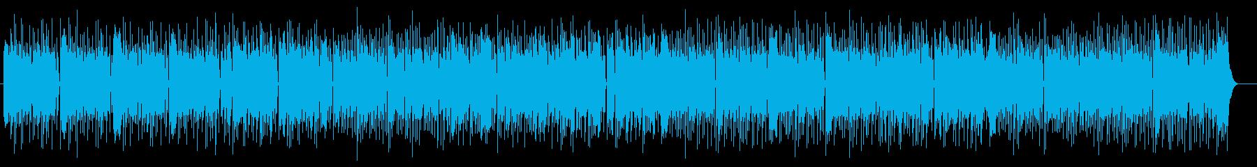 和風なミディアムテンポの三味線ポップスの再生済みの波形