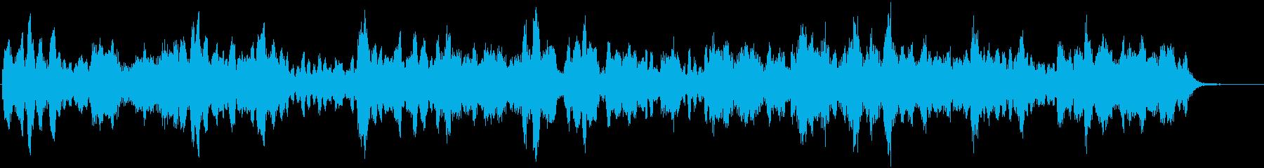 孤立無援な状況のサスペンスの再生済みの波形