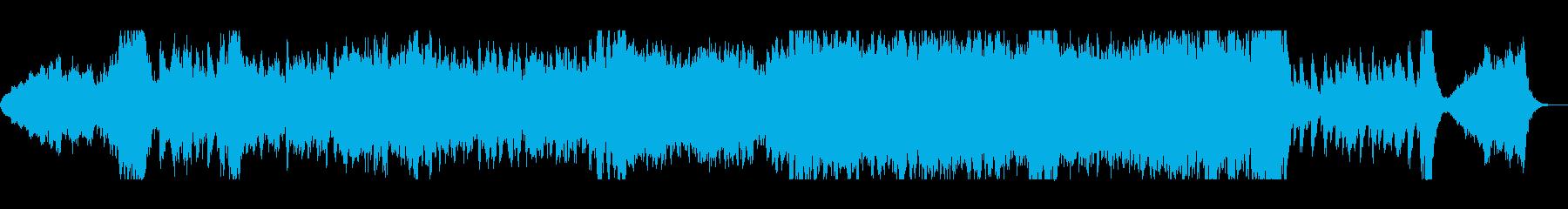 壮大オーケストラの哀愁サウンドトラックの再生済みの波形