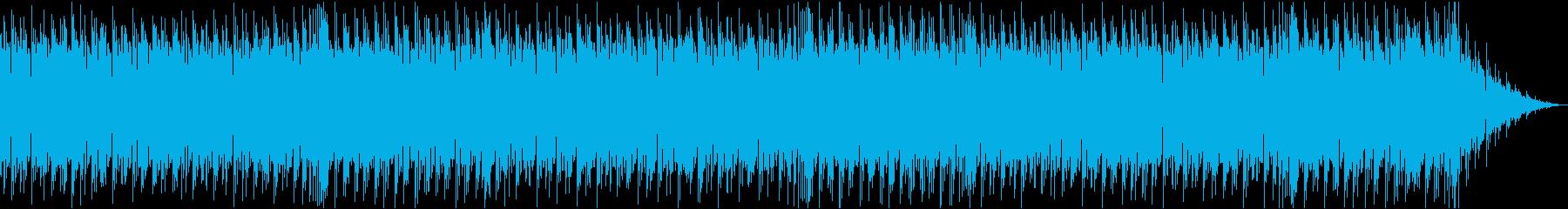 ロード画面によく合うクール系BGM-1の再生済みの波形