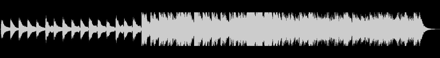 爽やかなピアノ・エレクトリックの未再生の波形
