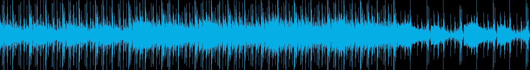 ループ:ダーク、ファンク、スタイリッシュの再生済みの波形