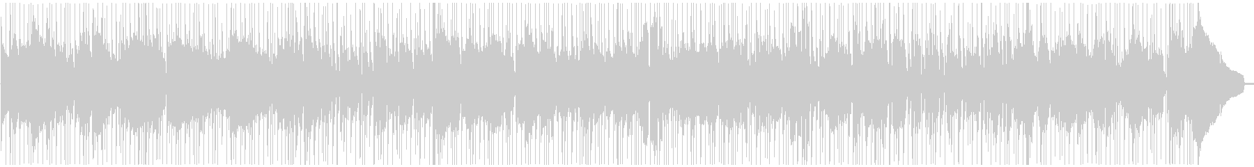 トランペット、スムースジャズバラードの未再生の波形