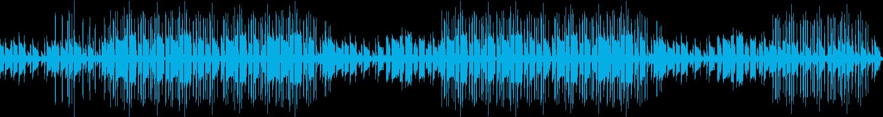 ギター・お洒落・カフェ・エモ・ループの再生済みの波形